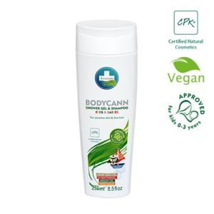 Annabis bodycann shower gel and shampoo for kids